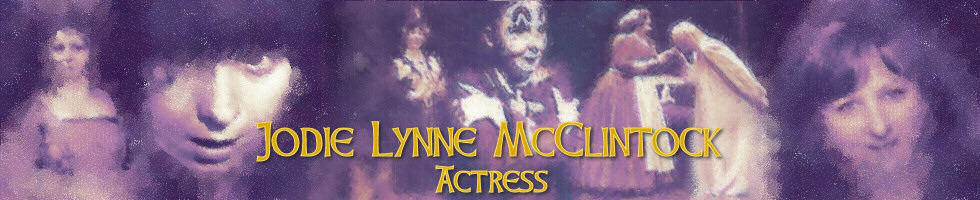 Jodie Lynne McClintock, Actress